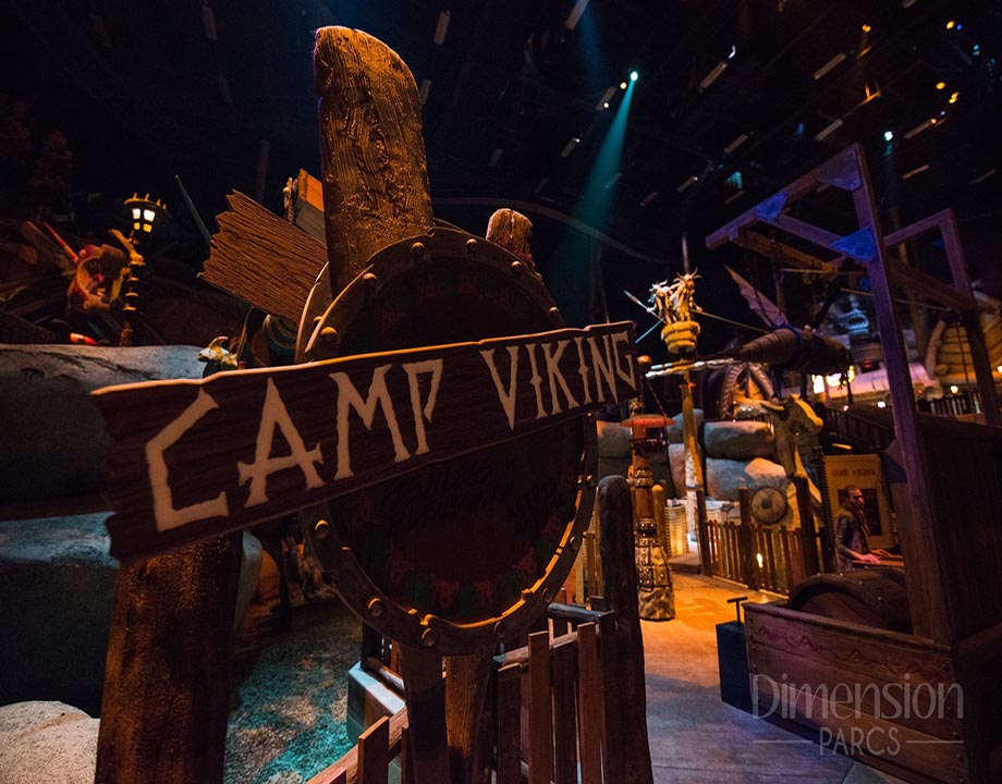 How To Train Your Dragon's Camp Viking