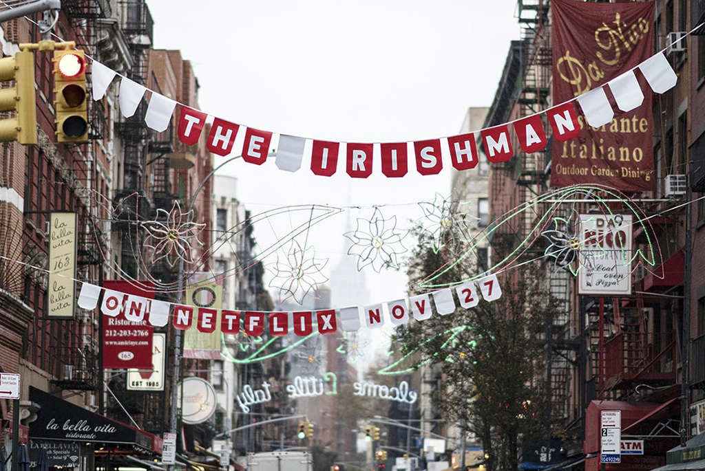 Netflix's The Irishman: Little Italy Takeover
